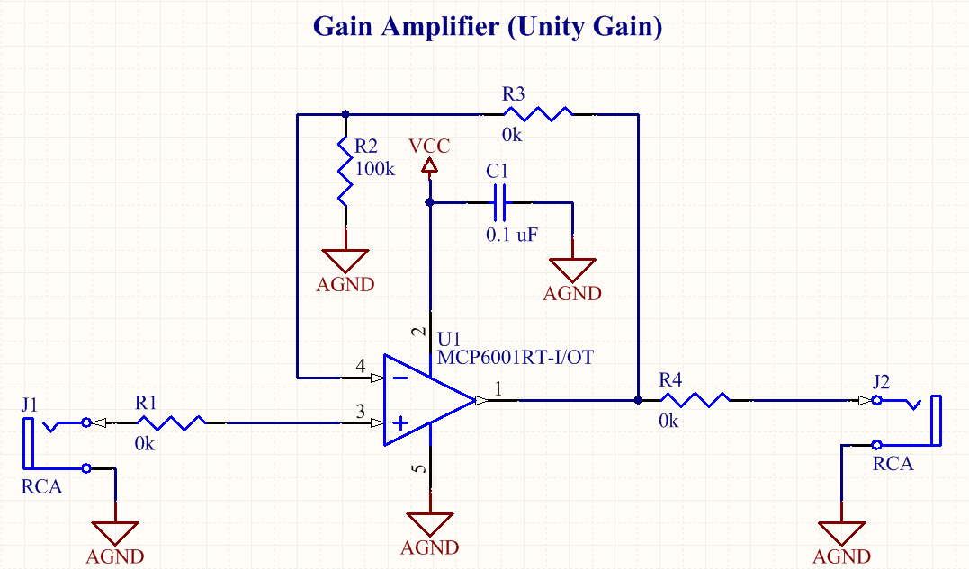 Buffer Amplifier